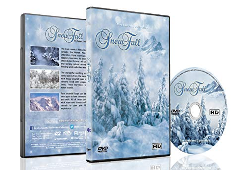 Christmas and Winter DVD - Snowfall - Winter Scenery of Mountains and Forest with Falling Snow with Relaxing Natural Sounds Perfect for Those Long Winter Evenings