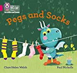 Pegs and Socks: Band 01B/Pink B (Collins Big Cat Phonics for Letters and Sounds)