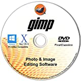 GIMP Photo Editor 2021 Premium Professional Image Editing Software CD Compatible with Windows 10 8.1 8 7 Vista XP PC 32 & 64-Bit, macOS, Mac OS X & Linux – Lifetime Licence, No Monthly Subscription!