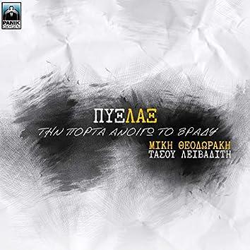Tin Porta Anoigo To Vradi (feat. Mikis Theodorakis, Tasos Livaditis)