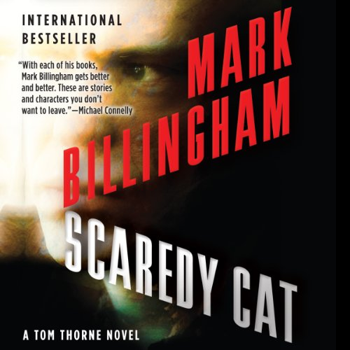 Scaredy Cat audiobook cover art