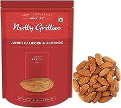 Nutty Gritties Jumbo California Almonds, Sanora, 500g