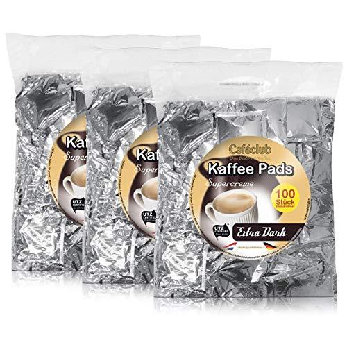 Kaffeepads Caféclub Megabeutel Extra Dark Roast 300 Pads