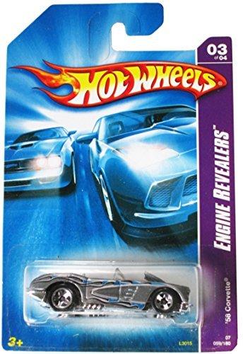 Hot Wheels Engine Revealers 03 of 04 '58 Corvette 059/180 by Hot Wheels