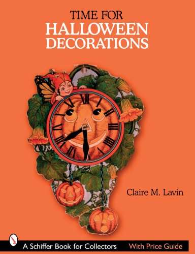 Price comparison product image Time for Halloween Decorations (Schiffer Book for Collectors)