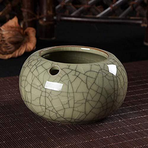 Gaojian Cenicero para Longquan Celadon cenicero de cerámica de Gran salón Cenicero,C