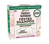 Garnier Wahre Schätze, Festes Shampoo Sanfte Hafermilch, mit beruhigender Hafermilch, für...