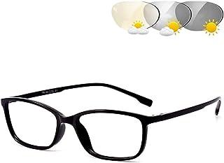 Photochromic Leesbril, Anti Glare Vermoeide Ogen Lightweight Full Frame Mannen En Vrouwen UV400 Zonnebril Lezers Presbyopi...