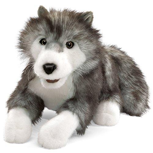 Folkmanis Puppets - Lobo de Peluche