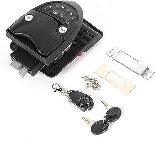 $112 » RV Keyless Entry Door Lock, RV Door Lock for Travel Trailers, Camper RV Entry Door Caravan Lock Latch Handle Knob Deadbol...