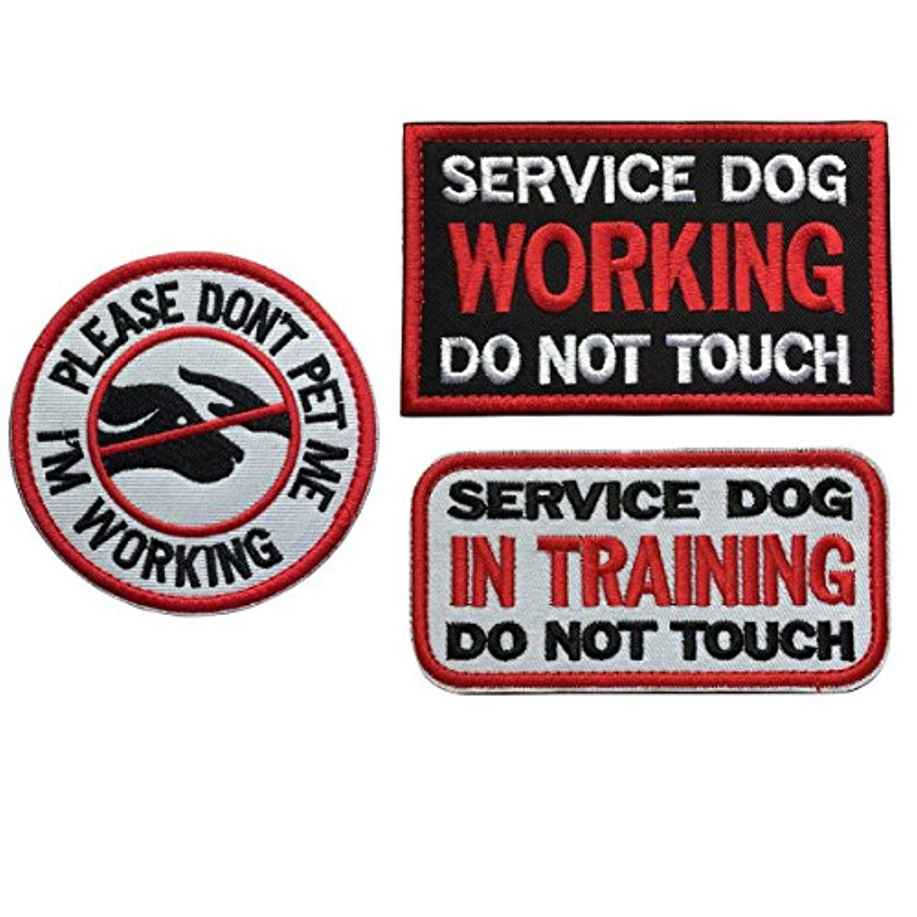Homiego Military Morale Service Dog Patch for Pet Tactical K9 Service Harness Vest