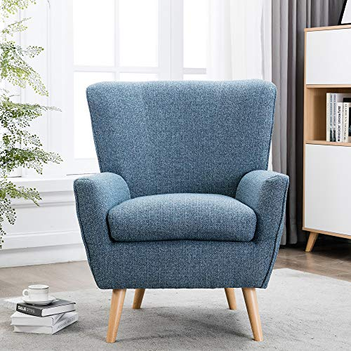 YISHEN Modern Swivel Accent Chair, Arm Padded Chair Barrel Chair, Modern Leisure Sofa for Seating Hotel Living Room