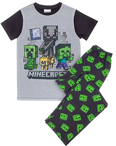 Minecraft Zombie Boy's Pyjamas (8 years)