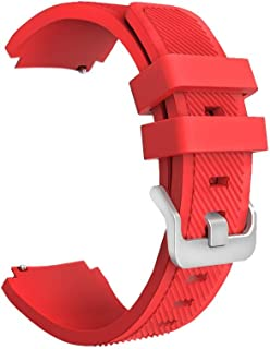 Margoun Active Silicone Watch Band For Samsung Gear S3 Frontier/Classic In Red