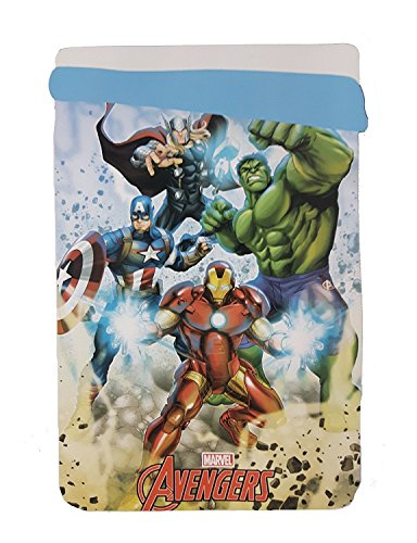 Jerry Fabrics The Avengers Coperta Extra Calda, Poliestere, Multicolour, 260x180x3 cm