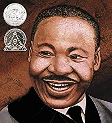 Martin's Big Words: The Life of Dr. Martin Luther King, Jr. children's book cover with Dr. King's face