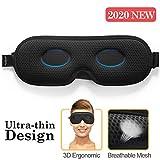 Antifaz para dormir Unimi para mujeres y hombres, antifaz ultrafino que bloquea la luz 3D, material...