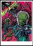 yitiantulong Diseños De Arte De Pared Mars Attacks! Póster Art...