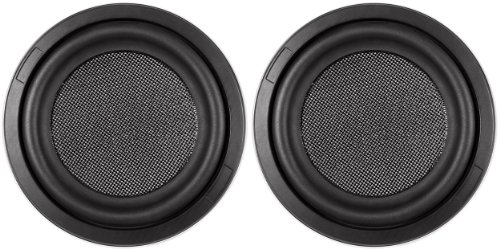 "Pair of Kenwood Excelon KFC-XW1000F 10"" 2000W Shallow Car Audio Subwoofers Subs"