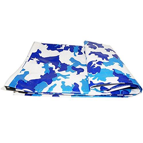 SXZHSM Truck dekzeil plastic regen vizier regendoek elektrische driewielige luifel camouflage dekzeil waterdichte zonnebrandcrème waterdicht dekzeil 6x10m Camouflage
