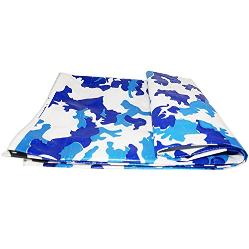 YYHSND Truck Tarpaulin Cloth Plastic Rain Visor Rain Cloth Electric Three-wheel Canopy Camouflage Tarpaulin Waterproof Sunscreen tarpaulin (Color : Camouflage, Size : 8x8m)