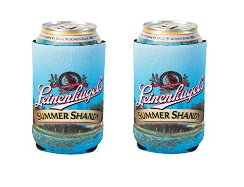 Offizielles Lizenzprodukt Leinenkugel Sommer Shandy Trinken können Halter Neopren Bier Huggie Kühler Sleeve blau