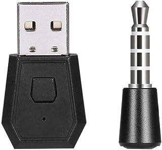 Adaptador de fone de ouvido/microfone sem fio do receptor BT com microfone BT 5.0 Adaptador USB Dongle Substituição do don...
