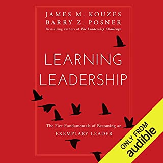 Learning Leadership audiobook cover art