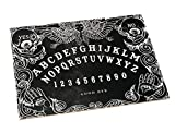 Wiccan Star Black Ouija Board Game with Planchette and Detailed Instruction