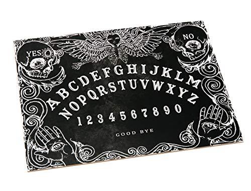 WICCSTAR Ouija Board. Schwarz hexenbrett mit detaillierten Anweisungen. Ouija Brett