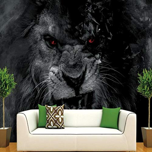 Photo Wallpaper Hd Wallpaper Hand-Painted Oil Painting Lion Bedroom Living Room Hotel Lobby Wallpaper Murals