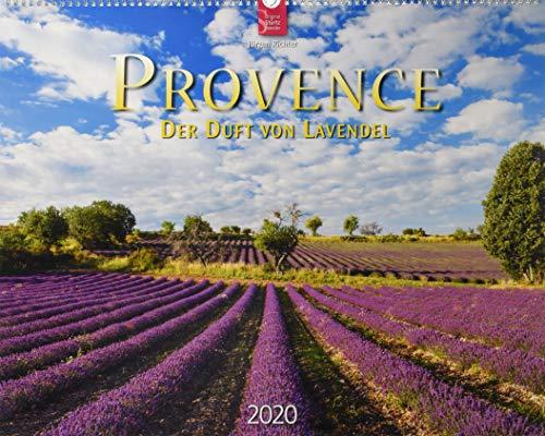 Provence - Der Duft von Lavendel: Original Stürtz-Kalender 2020 - Großformat-Kalender 60 x 48 cm