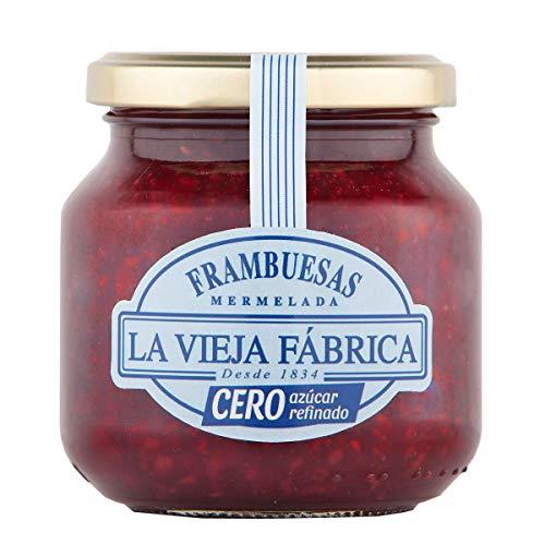LA VIEJA FABRICA mermelada de frambuesas cero frasco 280 gr