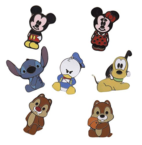 Disney Pin - Cute Characters - Mickey Mouse and Friends - V2, Small