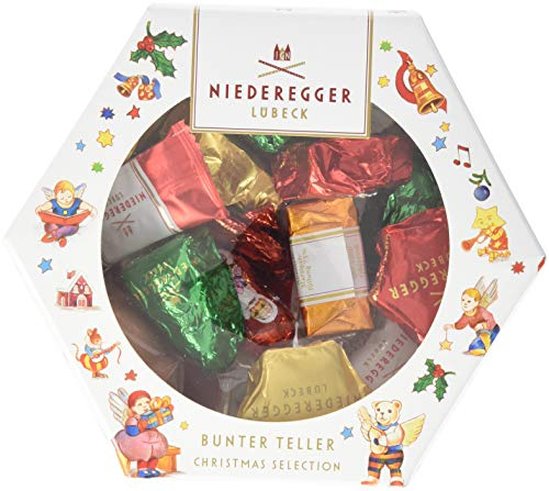 Niederegger Bunte Christmas Selection, (1 x 232 g)