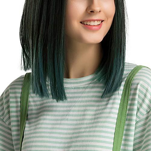 Peluca Verde  marca TARSHYRY