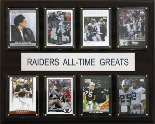NFL Oakland Raiders All-Time Greats Plaque
