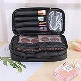 HAIBOMY Bolso de Cosméticos Organizador Viaje Lady Cosmetics Cosmetic Bag Nylon Impermeable Bolsa de Almacenamiento Bolsa de Almacenamiento de Gran Capacidad Caja de la Bolsa de Maquillaje