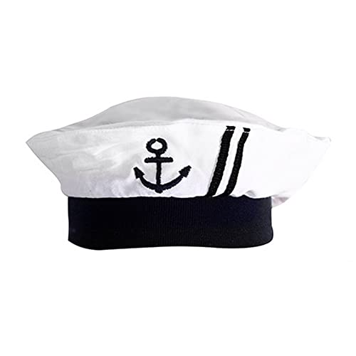 stylesilove Newborn Infant Nautical Sailor Embroidered Baby Boy Hat 67771a1fa4a