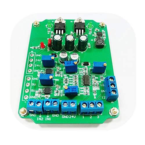 1 amplificador de instrumentación de alta ganancia módulo AD620 módulo doble salida diferencial amplificador programable