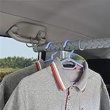 WXCC Erweiterbar Auto Kleidung Bar-Car Garderobe Organizer Rack- Beweglicher Sitz Rack-Universal-Fit- Auto Van Truck SUV