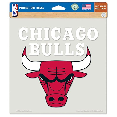 NBA Chicago Bulls Die-Cut Color Decal, 8