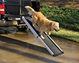 PetSafe Happy Ride Extendable Dog Ramp - Portable Pet Ramp Extends from 42 to 70 Inches - Great for Cars, Trucks and SUVs - Durable Frame Supports up to 300 lb - High Traction Surface Design