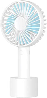 Color : Pink Mini Rechargeable Portable Silent Fan 154.219cm//61.687.6 Inches, Black//Green//Pink//White Yougou01 Electric Fan Clip-Type Small Car Fan Gift 2000Ahm Battery