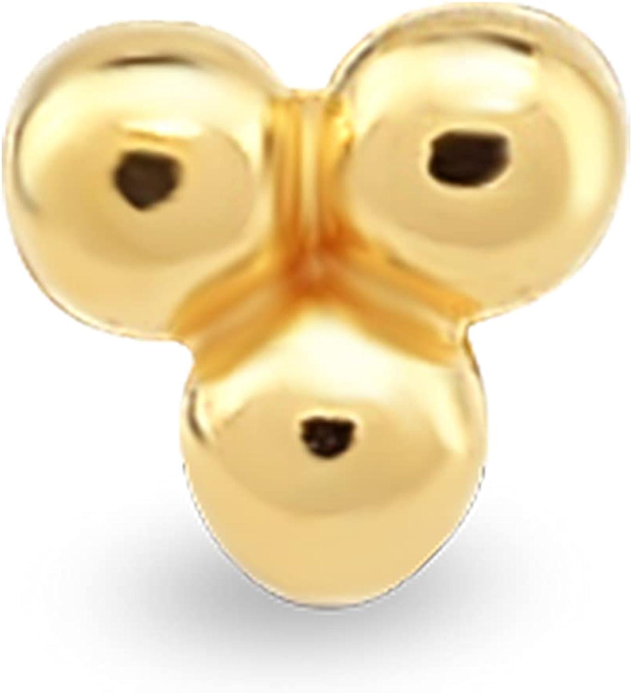 GELIN 14K Gold Cartilage Single Earring for Women