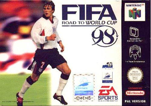 Fifa world cup 98 - Nintendo 64 - PAL