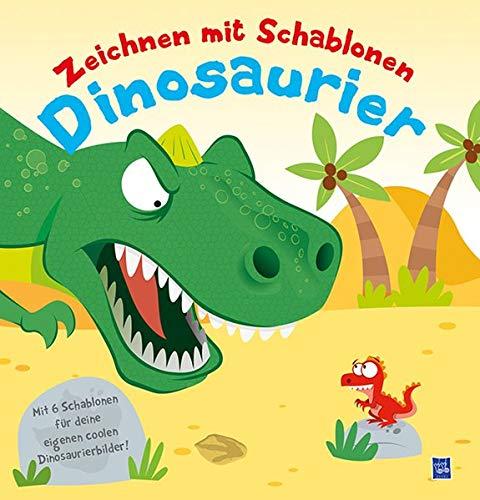 Zeichnen mit Schablonen - Dinosaurier: Mit sechs Schablonen für deine eigenen Bilder