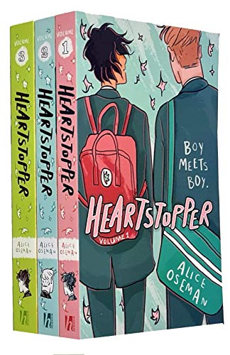 Heartstopper Series Volume 1-3 Books Collection Set By Alice...