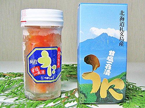北海道産粒うに一夜漬(エゾバフンウニ)60g×1個【出荷元:北海道四季工房】