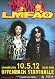 LMFAO - Party Rock, Frankfurt 2012 » Konzertplakat/Premium
